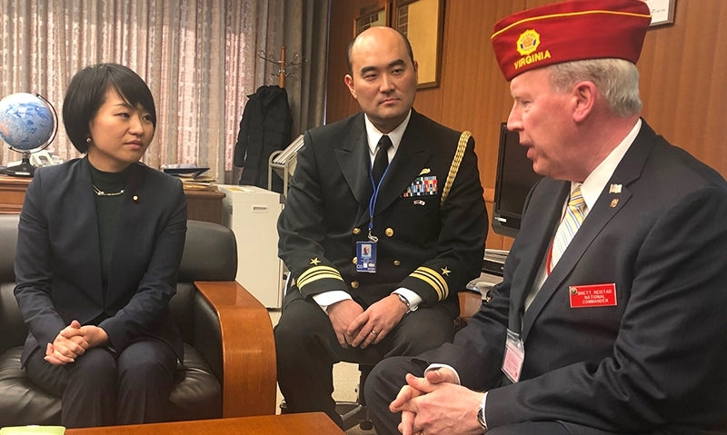 'Bitterest of Enemies, Now Strongest of Friends': Reistad Visits Japan