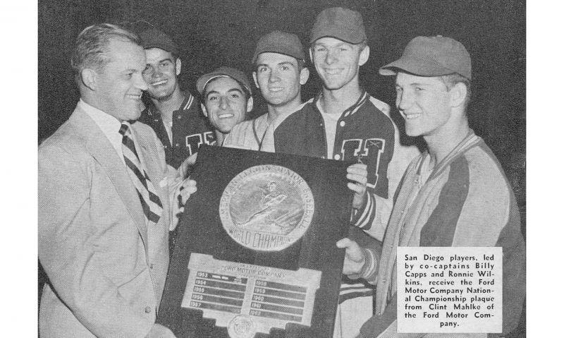 Individual stars in American Legion Baseball before the 1960s