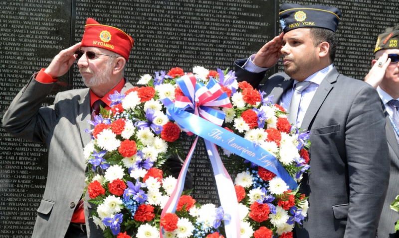 Nation's capital, Legionnaires pay respects on Memorial Day