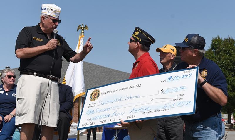 Indiana promotes Legion Family, honors Patriot Day