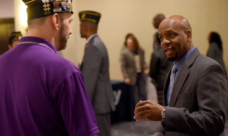 Job fair puts veterans face-to-face with prospective employers