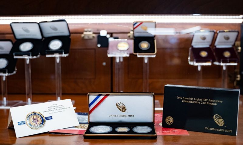 U.S. Mint to sell Legion centennial coins at convention
