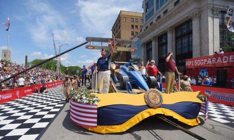 Rickenbacker, racing and the Legion on parade