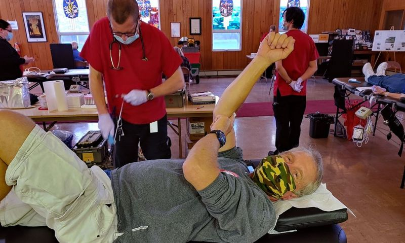 Legion posts exceeding expectations for blood drives