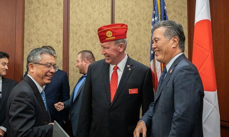 American Legion, Embassy of Japan host event honoring alliance
