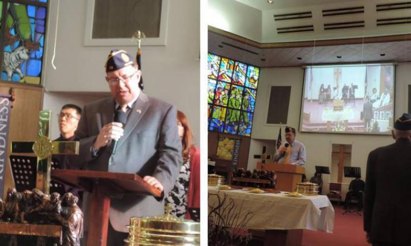 Korea post observes Four Chaplains anniversary