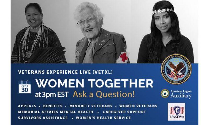 VA to host live virtual event on women veteran issues