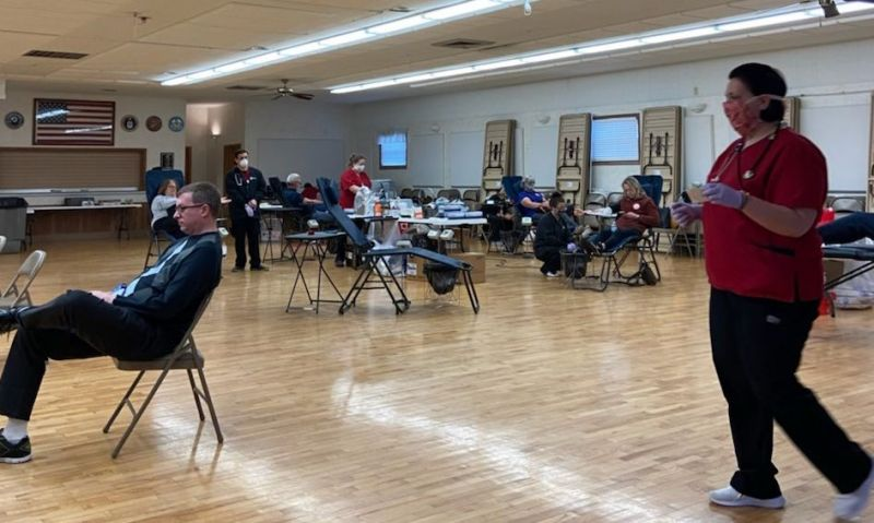 Ohio post leads community blood donation drive