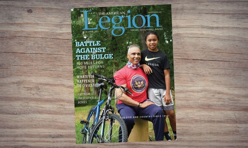 Civics, youth fitness and more in April American Legion Magazine