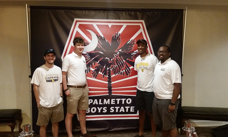 Boys State 'staff exchange' benefits both programs, future delegates