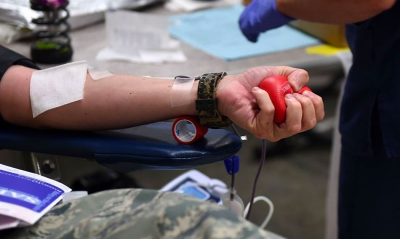 Holiday Donor Blood Drive underway