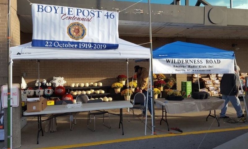 Kentucky post gets ham club involved in centennial activities
