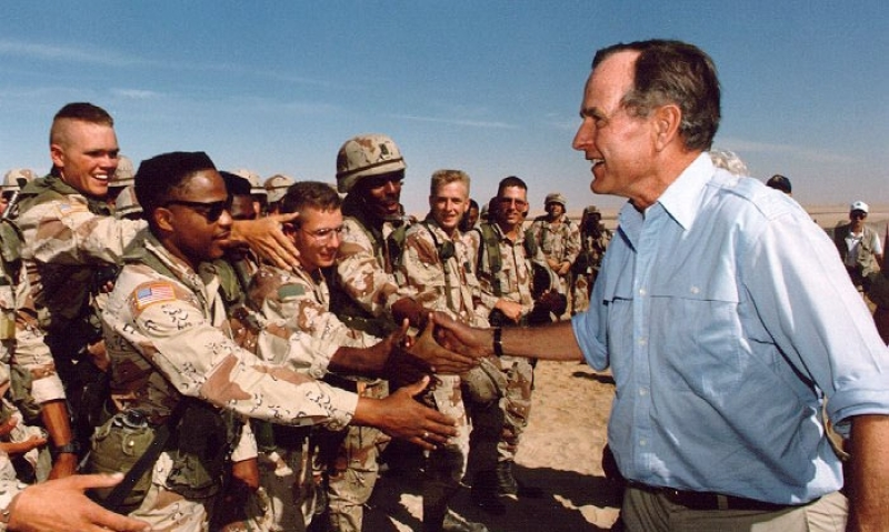 Legion commander: 'President Bush admired by troops, world leaders around the globe'