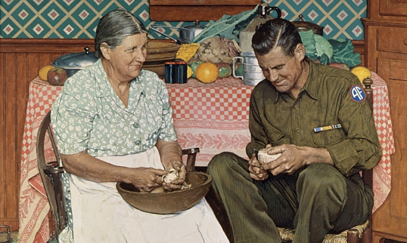 Massachusetts post's Rockwell painting to be part of world-traveling exhibition