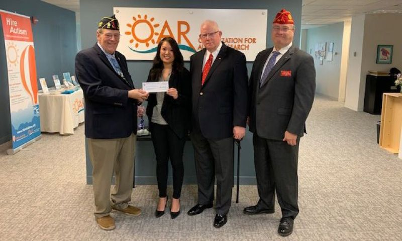 American Legion Child Welfare Foundation awards grant for autism research