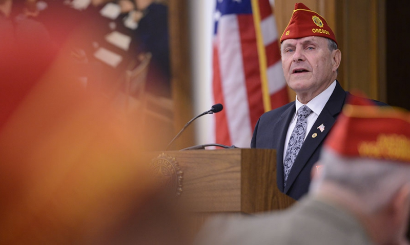 'A great legacy that The American Legion has built'