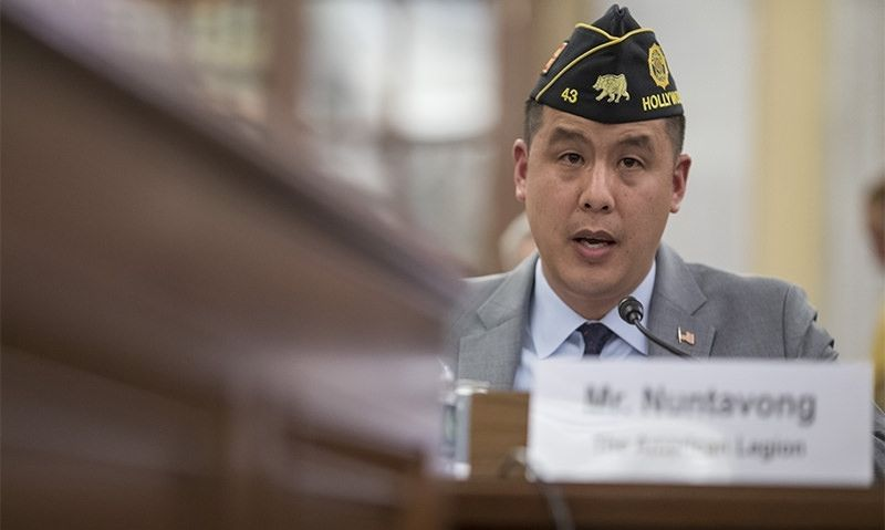 American Legion testifying on Capitol Hill April 30, May 1