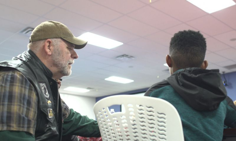 Indiana Post 341 brings Christmas to foster children