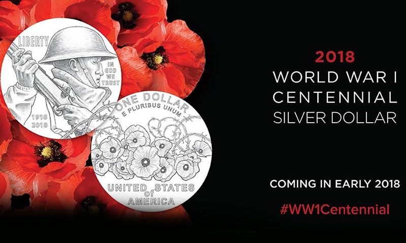 Mint unveils World War I centennial coin