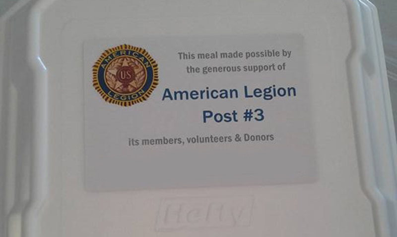 Massachusetts Legion post delivers warmth on a cold Christmas Day