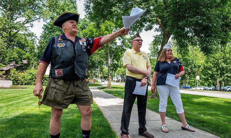 Post's July Fourth ceremonies honor original patriots