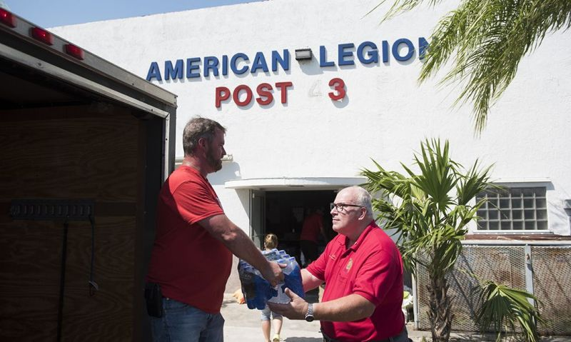 Legion Family stands ready to help as natural disasters progress