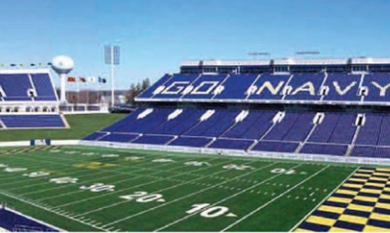 Postponed Navy football games rescheduled