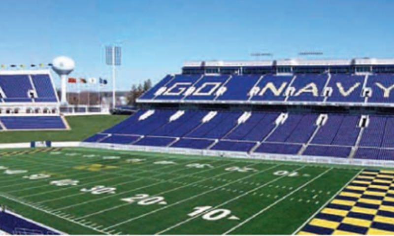 Navy football game postponed for 3rd week in a row