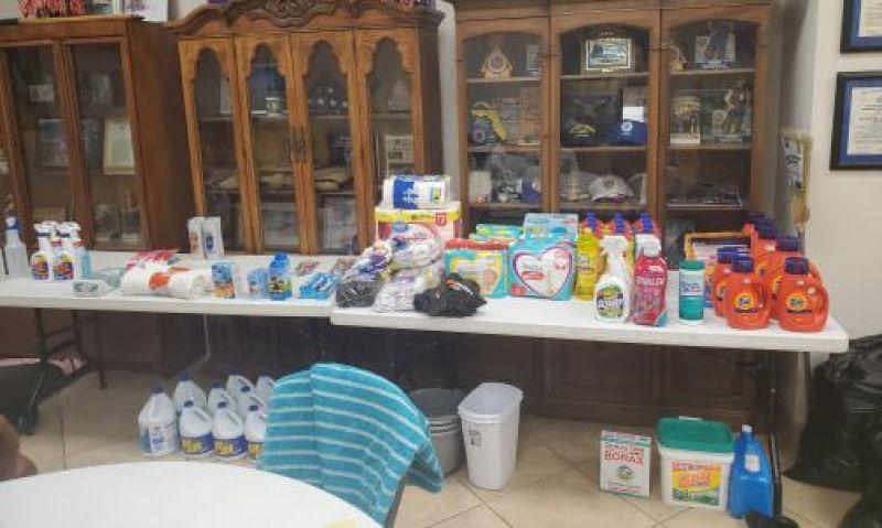 Texas Legion posts stepping up following Tropical Depression Imelda