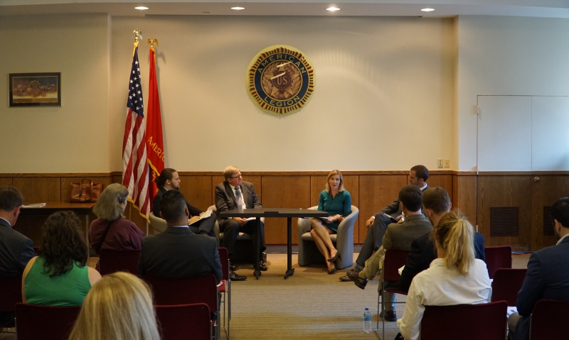 Legion hosts panel discussion about veterans' contributions to national security