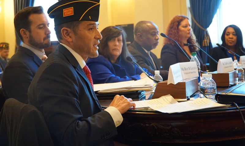 Legion testifies on pre-discharge programs for separating servicemembers