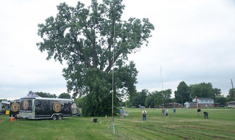 Legion hams participate in Field Day