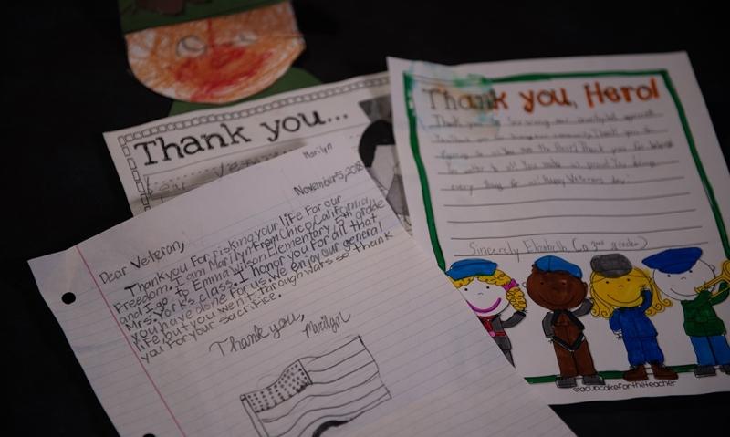 American Legion appreciates Veterans Day letters from California students