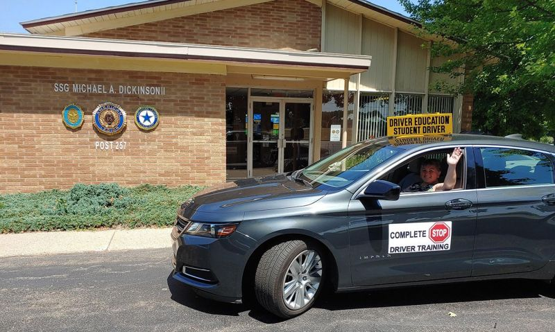 Michigan Legion post opens doors to driving students