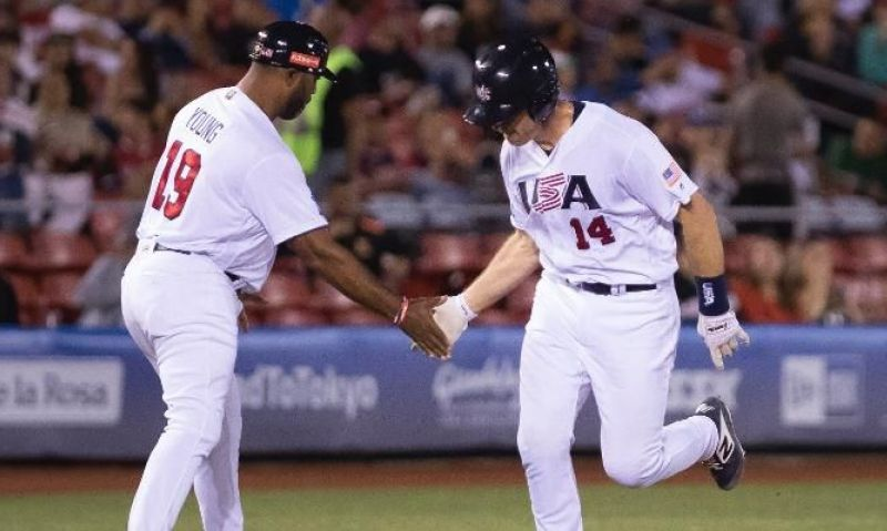 Legion Baseball alums playing for Team USA