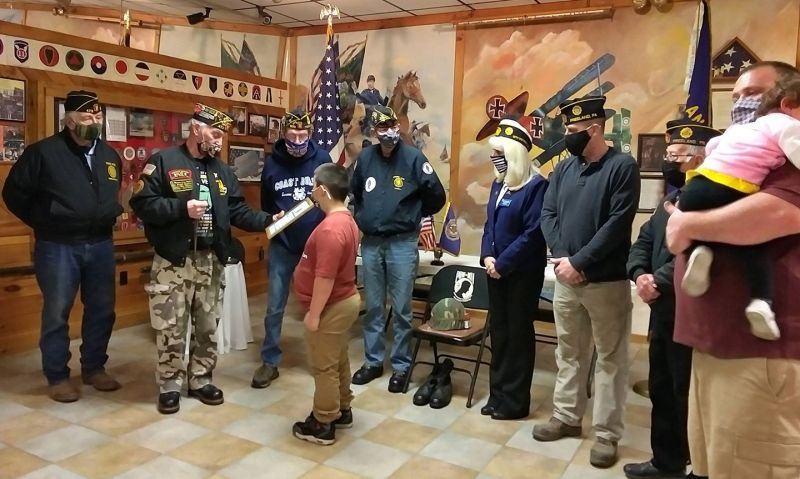 Pennsylvania Legion post honors 8-year-old hero