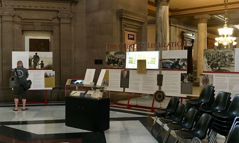 Legion's GI Bill exhibit in Indy for national convention