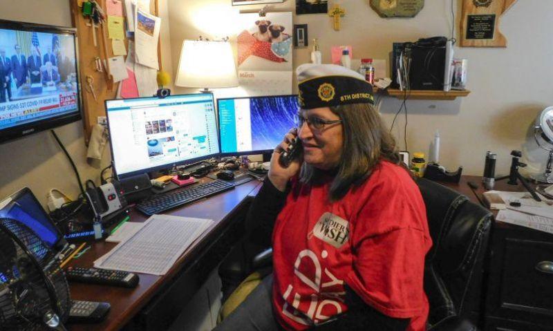 Veteran organizations go virtual in response to pandemic