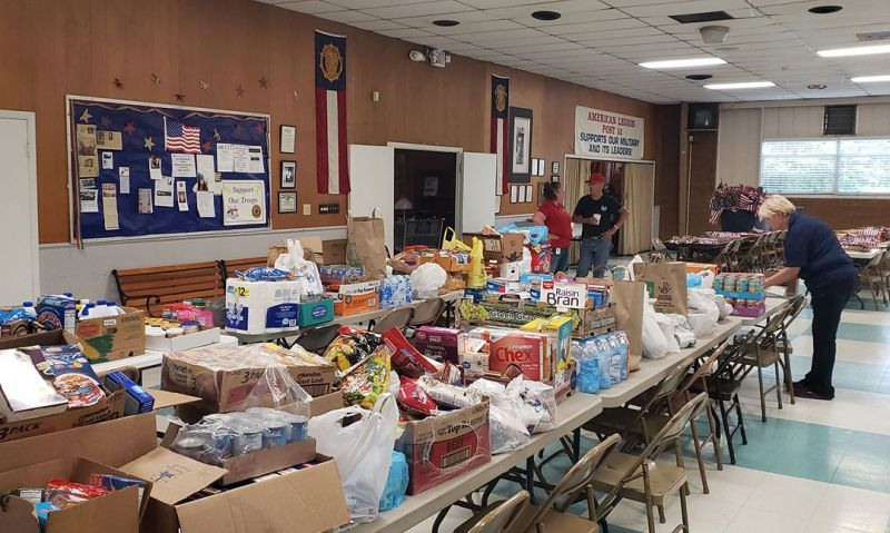 Legion Family efforts continue to assist communities through pandemic