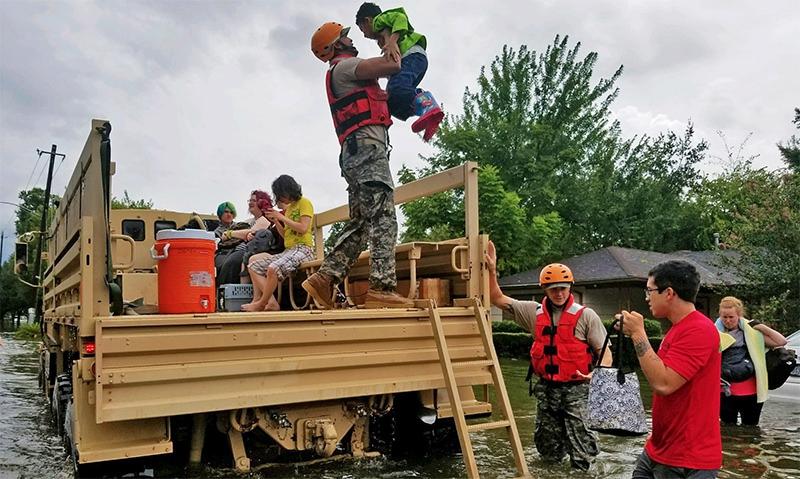 Legion's NEF, TFA ready to help hurricane victims in Texas