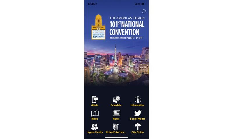 National convention app for Indianapolis available