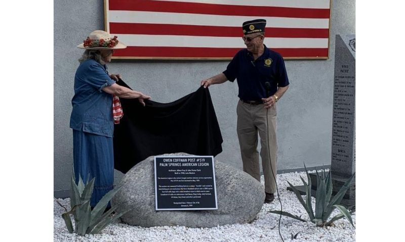California post with radio history dedicates new historic plaque