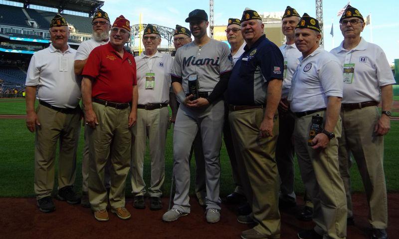 Neil Walker honored as American Legion Baseball Graduate of the Year