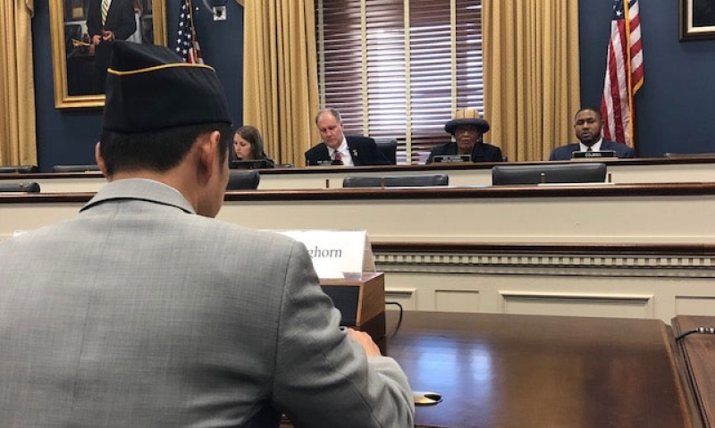 Legion testifies on challenges facing veteran-owned small businesses