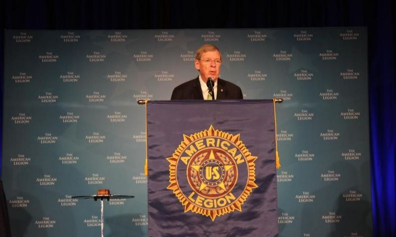 American Legion: Thank you Sen. Isakson for serving veterans