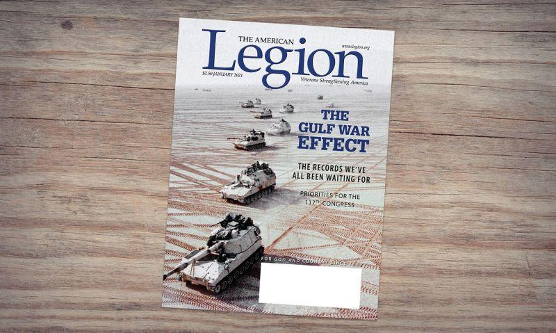 January American Legion Magazine reflects on Gulf War lessons