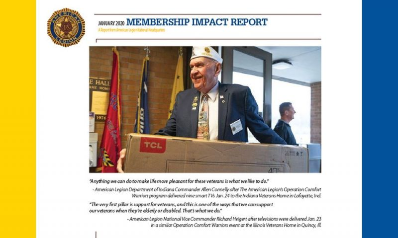 Membership Impact Report: Operation Comfort Warriors has big month