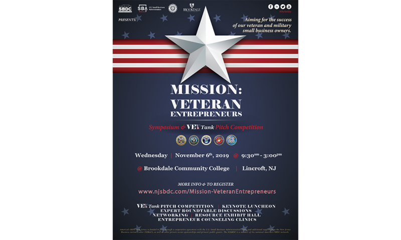 Symposium set for veteran entrepreneurs in New Jersey