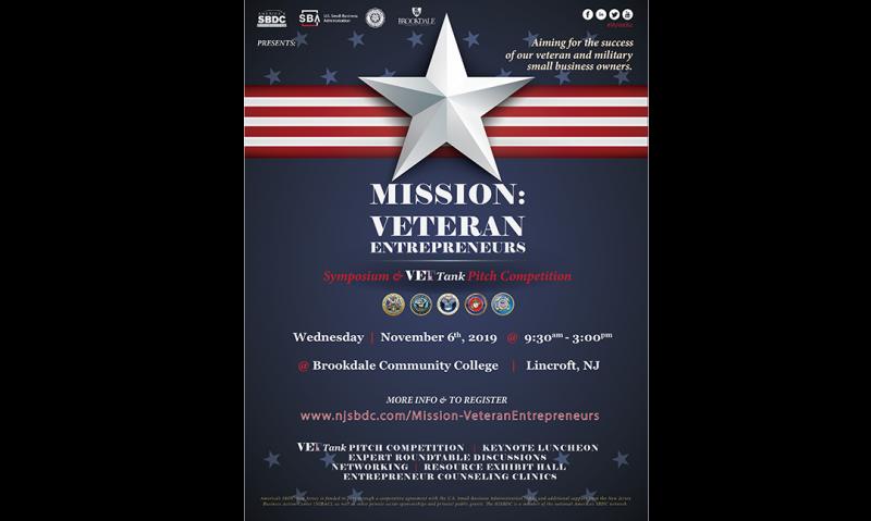 Symposium set for veteran entrepreneurs in New Jersey