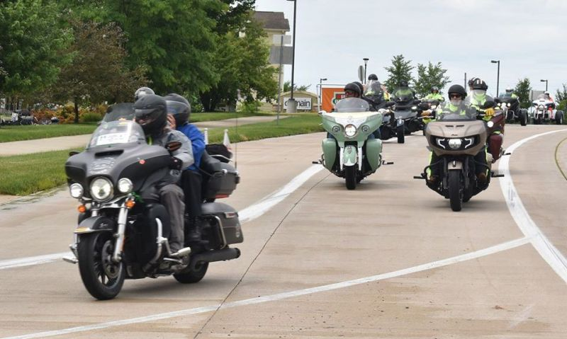 American Legion Riders still find a way to raise funds 'for the kids'